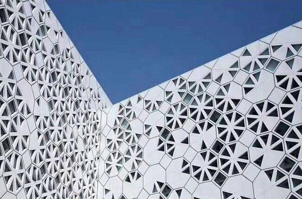室外格栅铝幕墙