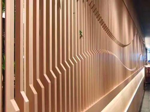 造型木纹铝方通