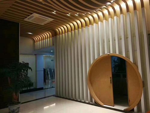 铝方通造型墙
