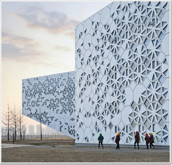 幕墙雕花铝单板